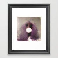Cotton Candy V1 Framed Art Print