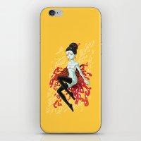 Fire Fairy iPhone & iPod Skin