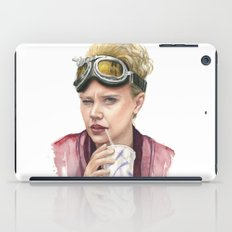 Jillian Holtzmann Portrait | Ghostbusters Art Painting iPad Case