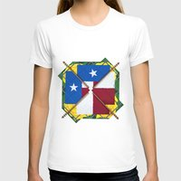 Altered State: TX Womens Fitted Tee White SMALL