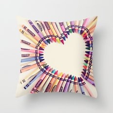 love in every color Throw Pillow