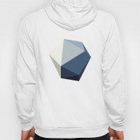 Minimal Geometric Polygon Art Hoody