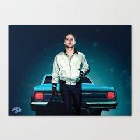 'Drive' Ryan Gosling Canvas Print
