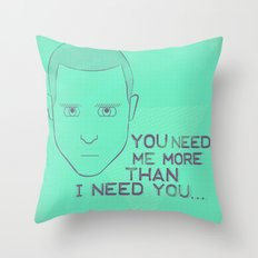 Breaking Bad - Faces - Jesse Pinkman Throw Pillow