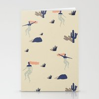 Dezert swim Stationery Cards