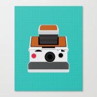 Polaroid SX-70 Land Camera Canvas Print