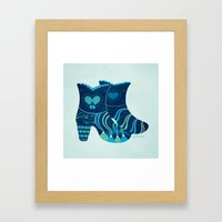 These Boots Are Made For… Framed Art Print