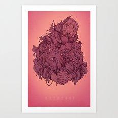 Discard Pile Art Print