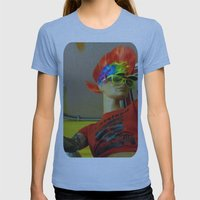Cleveland Rocks Womens Fitted Tee Athletic Blue SMALL
