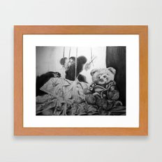 a childhood dream Framed Art Print