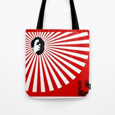 Unfinished Lights (The Face Collection) Tote Bag