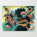 Guardian of the Bubble Pipes of Creation Canvas Print