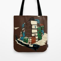 Book City Tote Bag