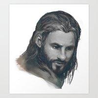 fili BnW Art Print