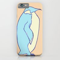 iPhone & iPod Case featuring penguin by teresaferreira
