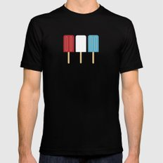 Americana SMALL Mens Fitted Tee Black