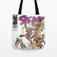Spawn 9 Cover Tote Bag