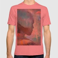 The messenger Alpha Mens Fitted Tee Pomegranate SMALL