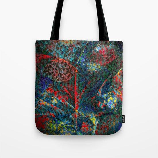 Fractal Flower Tote Bag