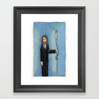 Uncle Misanthrope Framed Art Print