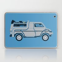 Back to The Future DeloreVan Laptop & iPad Skin