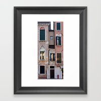 little people Framed Art Print