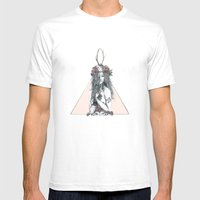 Nature Girl Mens Fitted Tee White SMALL