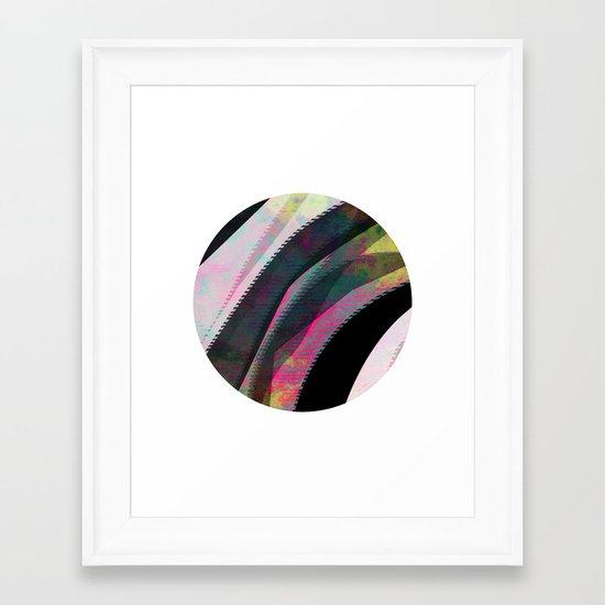 Illusory Framed Art Print
