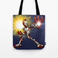 IRON MAN Mark 42 Tote Bag