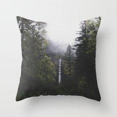 Latourell Falls, OR Throw Pillow