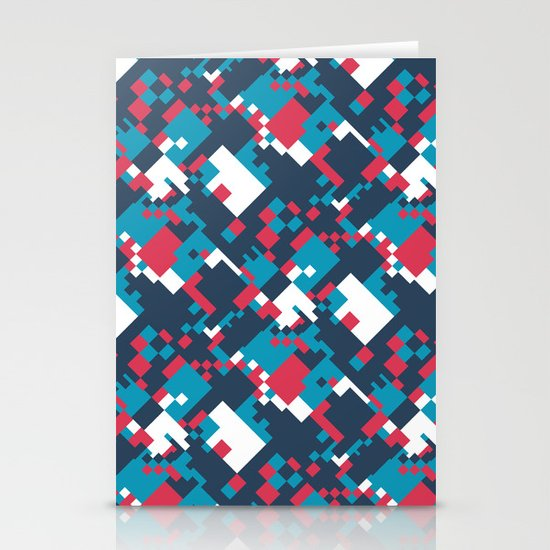 pixelated 2.0 Stationery Card