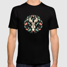 Jackalope  Mens Fitted Tee Black SMALL