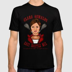 Clara Oswald's Easy Souffle Mix SMALL Black Mens Fitted Tee