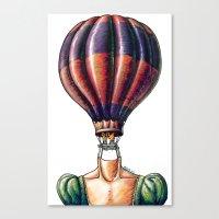 Think Freely & Bit Simpl… Canvas Print