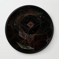 Eye of Chaos Wall Clock