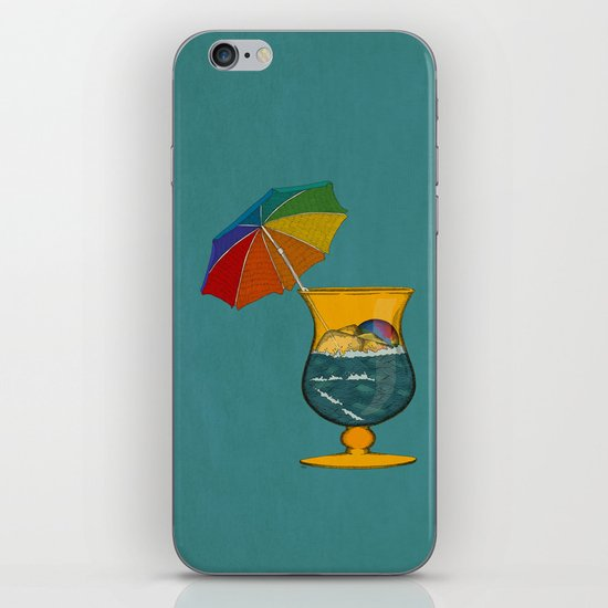 Surf's Up iPhone & iPod Skin