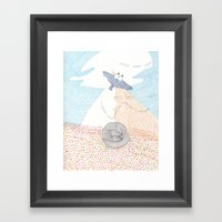 EVEN AIR Framed Art Print