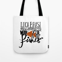 Luca Brasi Sleeps With The Fishes. Tote Bag