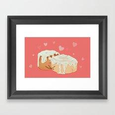 Cinnamon Butts Framed Art Print