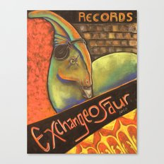 Exchangeosaur Canvas Print
