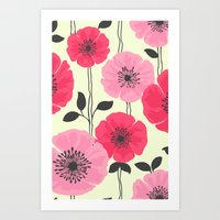 PATTERNFLOWER 2 Art Print