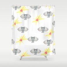 INDIAN WALLPAPER Shower Curtain