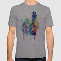 -In heaven- Mens Fitted Tee Athletic Grey SMALL
