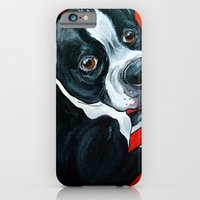 iPhone & iPod Case featuring Boston Terrier Dog  by WOOF Factory