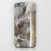 iPhone & iPod Case featuring Bath Times Three by Maureen Anne