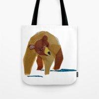 Linus Bear Tote Bag