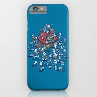 iPhone & iPod Case featuring Blue Horde by Letter_q