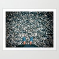 Cannes by foot Art Print
