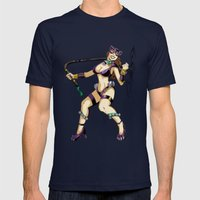 Carnival Catwoman Mens Fitted Tee Navy SMALL