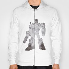 Optimus Black and White Hoody